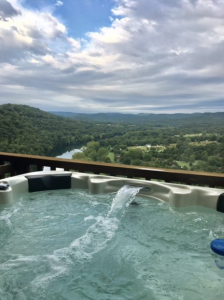 eureka springs cabins with hot tubs