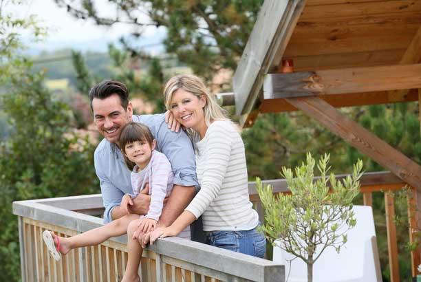 Arkansas family on vacation