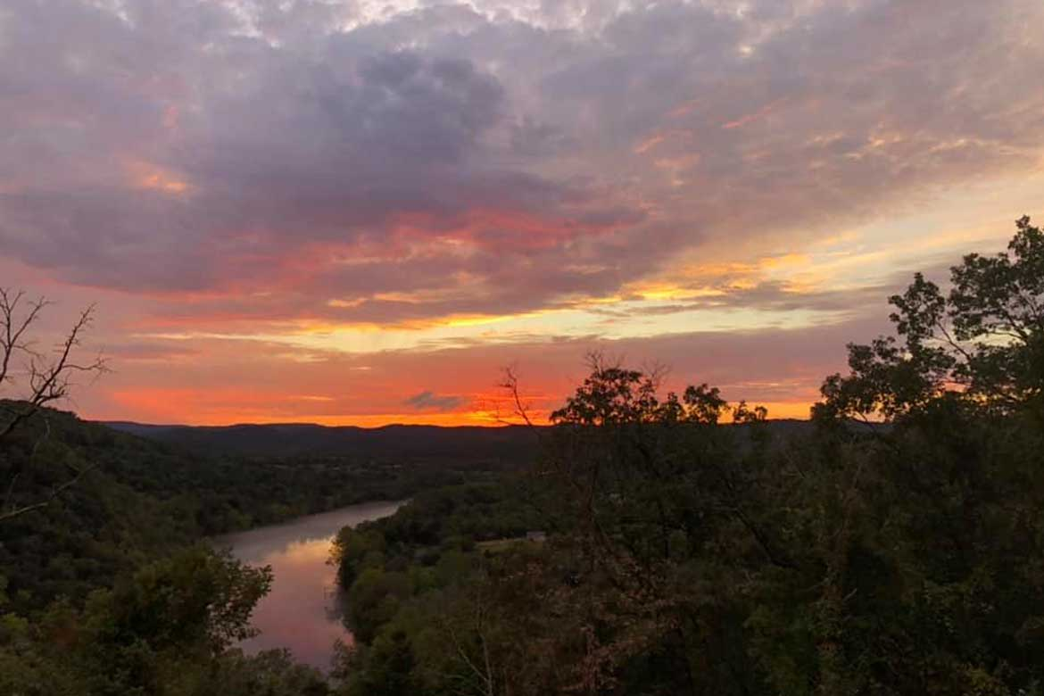 Ozark sunset